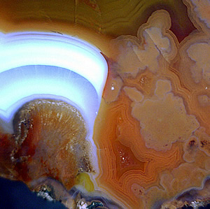 Agate, Valle Escondido, San Rafael Department, Mendoza, Argentina