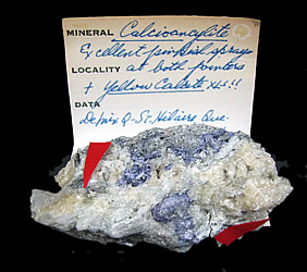 Calcioancylite-(Ce) from Mont Saint-Hilaire, Québec, Canada ex Ron Waddell