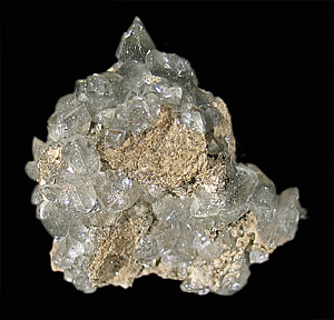 Calcite with Pyrite and Marcasite, Conco Mine, North Aurora, Kane Co., Illinois