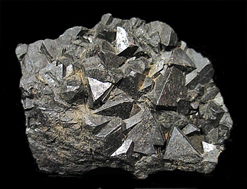 "Hematite ps Magnetite (""Martite""), Twin Peaks, Millard Co., Utah"